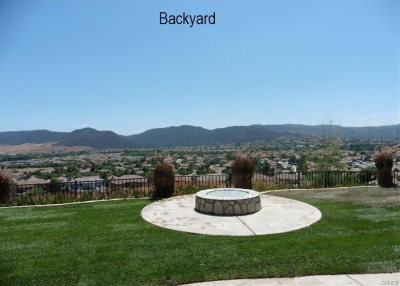 Murrieta Home For Sale - Backyard