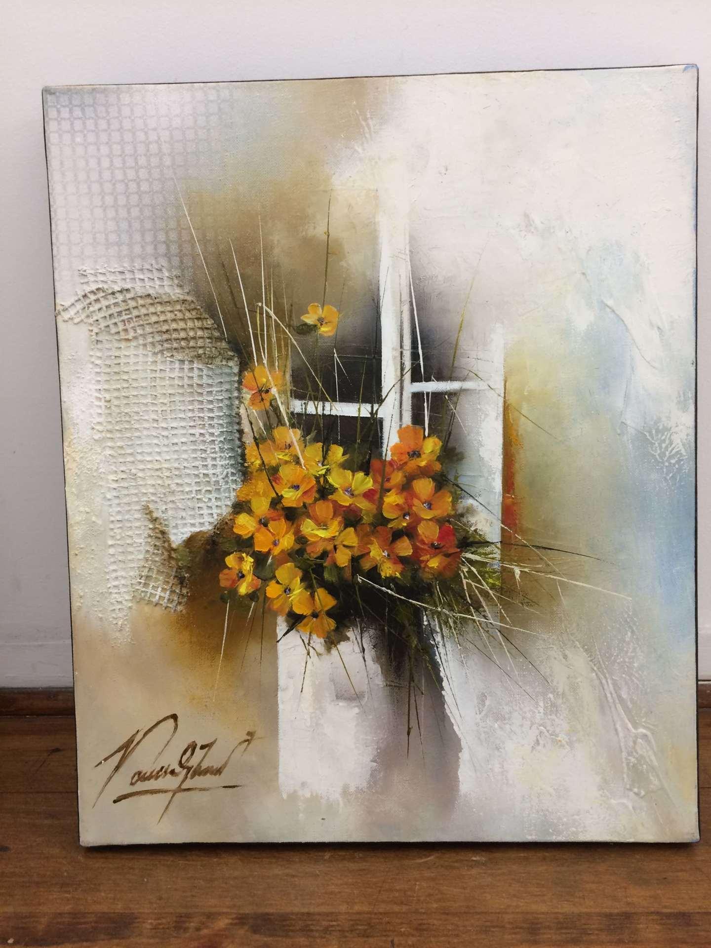Bouquet jaune - 46x38