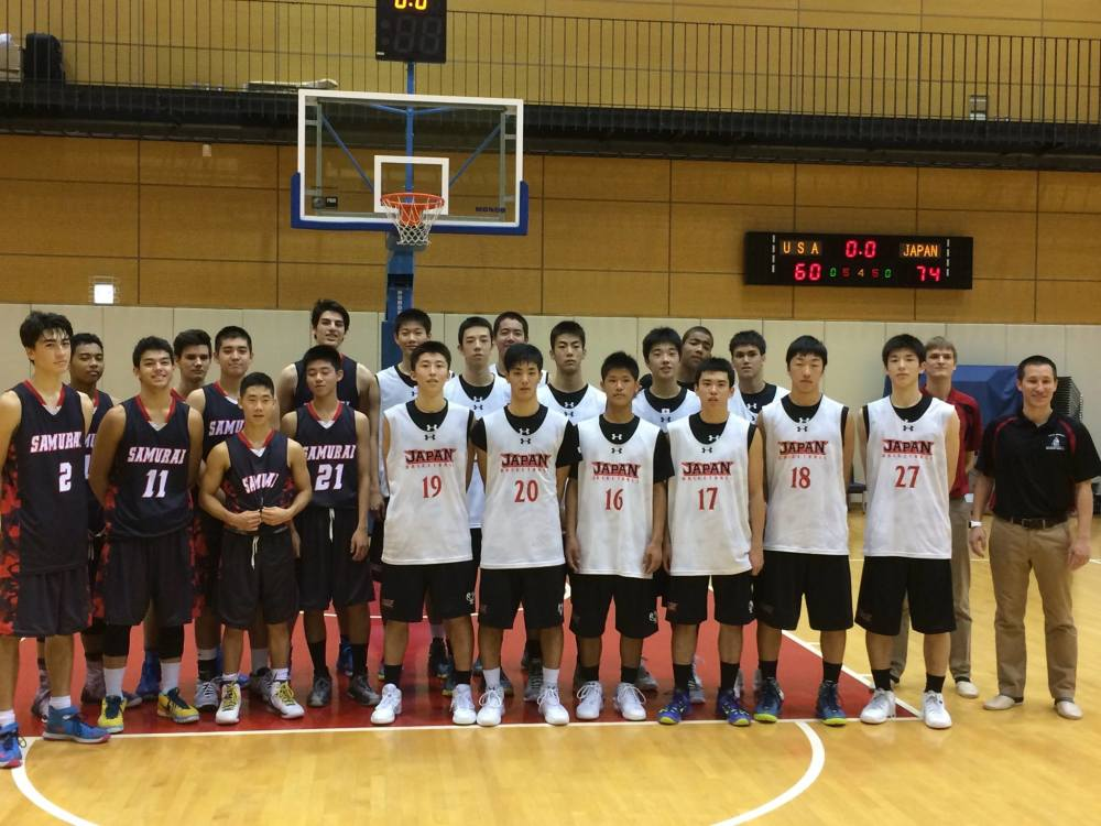 Tokyo Samurai take on Japan's National U16