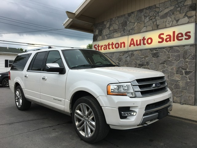 2016 Ford Expedition Platinum                        Stock # F37147