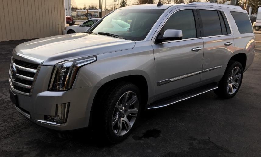 2015 Cadillac Escalade:    50,744 miles    Last Six of VIN #  237313