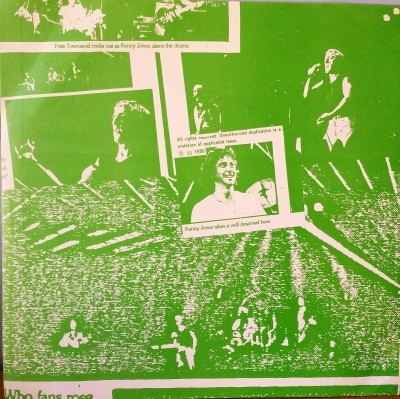 The Who  Who's Who Bootleg LP