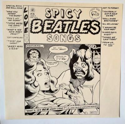The Beatles Spicy Beatles Songs Bootleg LP