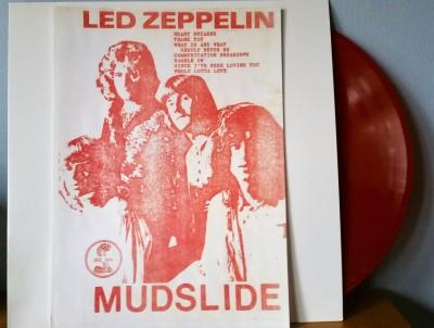 Led Zeppelin Mudslide bootleg LP