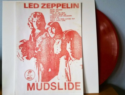 Led Zeppelin Mudslide bootleg LP