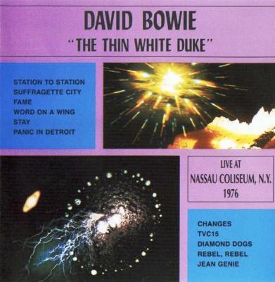David Bowie Thin White Duke bootleg