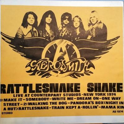 Aerosmith Rattleshake Snake bootleg