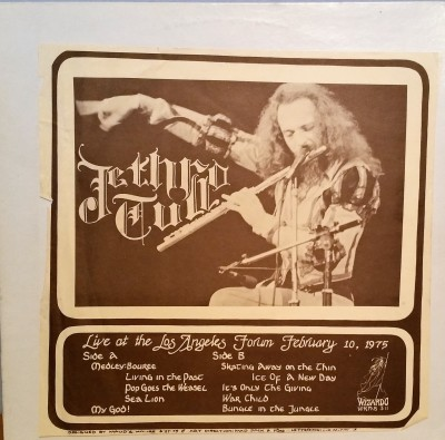 Jethro Tull Live At The L.A. Forum