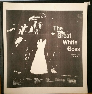 Bruce Springsteen  The Great White Boss