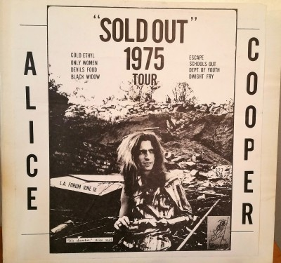 Alice Cooper Sold Out