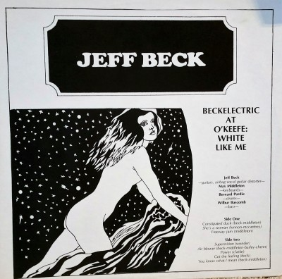Jeff Beck Beckelectric At O'Keefe  White Like Me