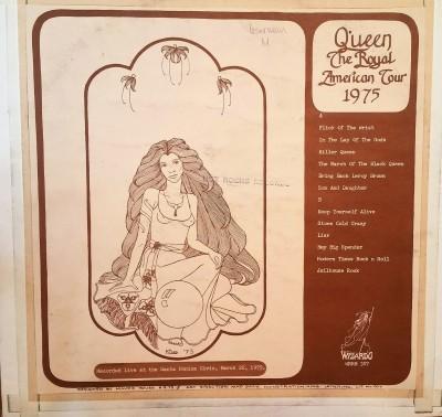 QUEEN - ROYAL AMERICAN TOUR 1975   Wizardo WRMB 307