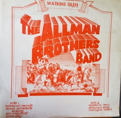 THE ALLMAN BROTHERS BAND - WATKINS GLEN  Midnight Records