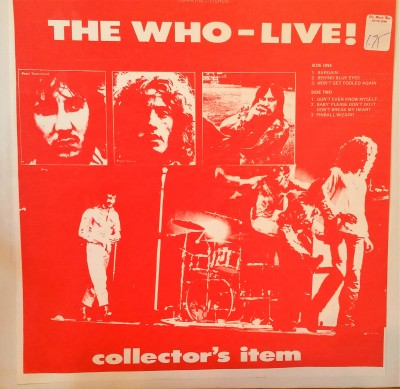 The Who Collectors' Item