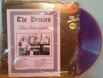 THE BEATLES  -  YELLOW MATTER CUSTARD Trade Mark Of Quality TMOQ 513