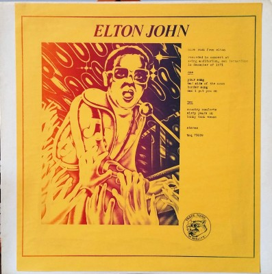 ELTON JOHN - MORE ROCK FROM ELTON Trade Mark Of Quality TMQ 73039