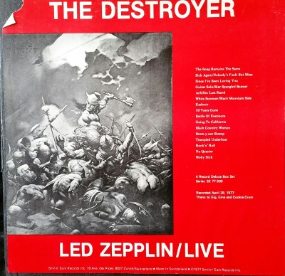 LED ZEPPELIN  - THE DESTROYER  Smilin' Ears 77-300