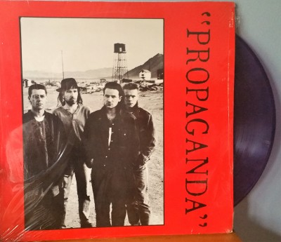 U2 - PROPAGANDA   Toasted Records  TRW555