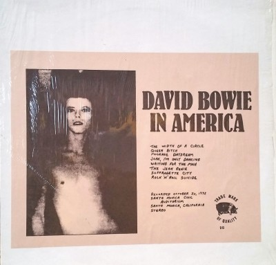DAVID BOWIE - IN AMERICA  TMOQ 71062