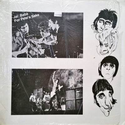 """THE WHO  - JAI BABA FOR PETE""""S SAKE   Moon Records 9-7-78"""