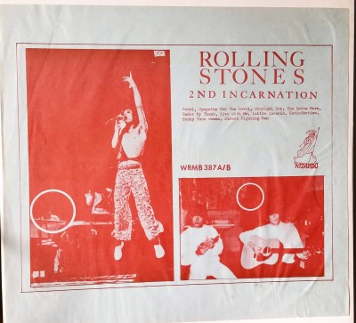 ROLLING STONES - 2ND INCARNATION  Wizardo WRMB 387