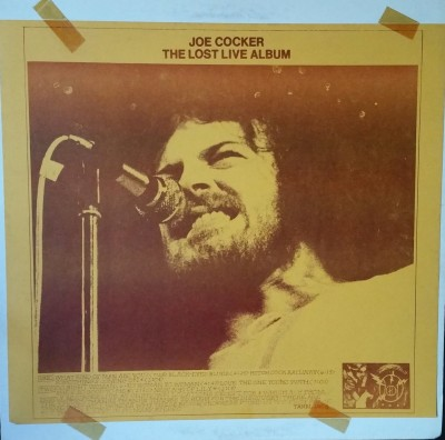 JOE COCKER - THE LOST LIVE ALBUM  Kornyphone TAKRL 1908