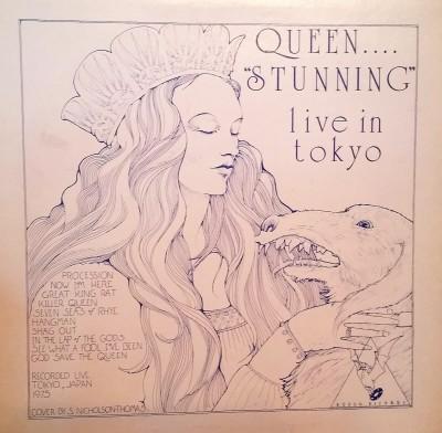 QUEEN -  STUNNING - Live In Tokyo   Rodan Records
