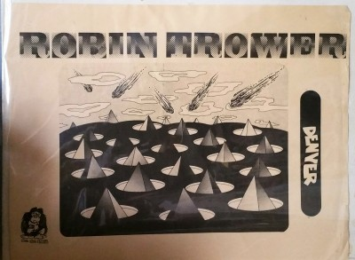 ROBIN TROWER  -  DENVER   King Kong Records (CBM)