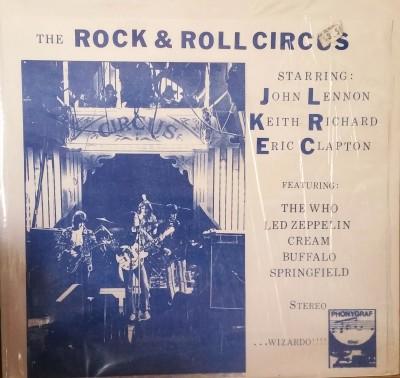 JOHN LENNON et al - ROCK & ROLL CIRCUS   Phonygraf 1106
