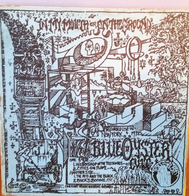 BLUE OYSTER CULT   IN MY MOUTH OR ON THE GROUND  IMP Ruthless Rhymes