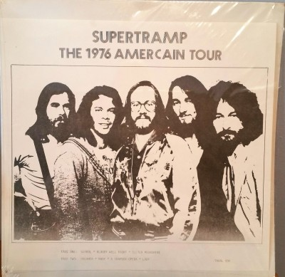 SUPERTRAMP   THE 1976 AMERICAN TOUR    Kornyphone 905