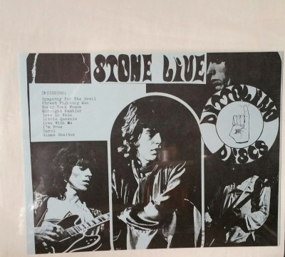 THE ROLLING STONES  STONE LIVE   Dittolino Discs
