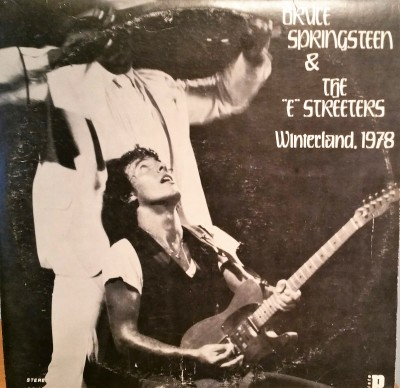 BRUCE SPRINGSTEEN  LIVE IN THE PROMISED LAND / WINTERLAND 1978