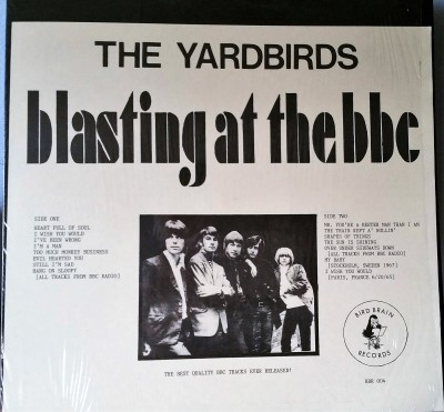 THE YARDBIRDS  BLASTING AT THE BBC  Bird Brain BBR004