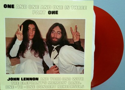 JOHN LENNON, YOKO ONO & ELEPHANT'S MEMORY  ONE & ONE & ONE IS THREE / PART ONE  Benefit One