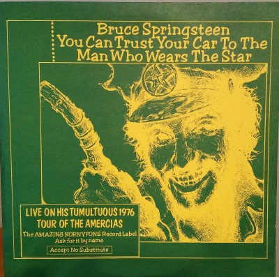 BRUCE SPRINGSTEEN  YOU CAN TRUST YOUR CAR TO THE MAN WHO WEARS THE STAR  TAKRL 24093