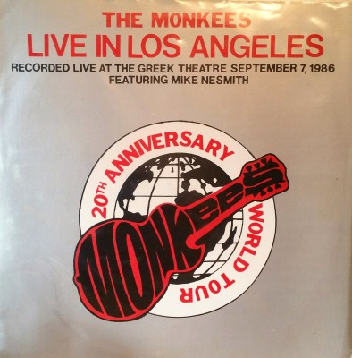 THE MONKEES  LIVE IN LOS ANGELES  Bird Brain Records 77-711