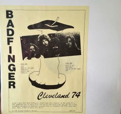 BADFINGER  CLEVELAND '74  Instant Analysis BBR 018