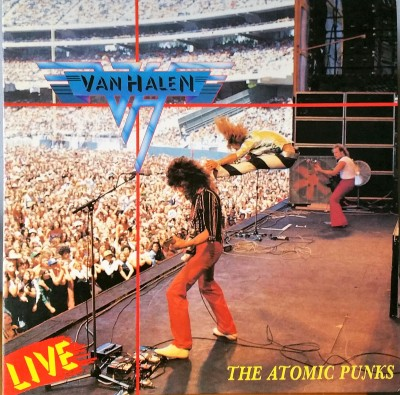 VAN HALEN  ATOMIC PUNKS  Hee Jee Records