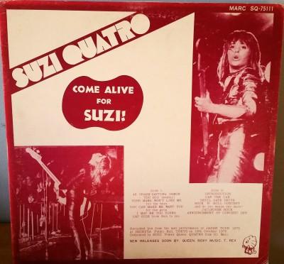 SUZI QUATRO  COME ALIVE FOR SUZI   MARC SQ-75111