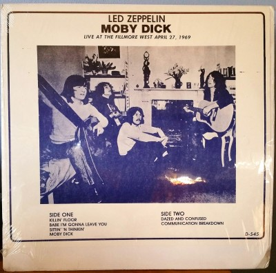 LED ZEPPELIN  MOBY DICK  Great Live Concerts GLC D-545