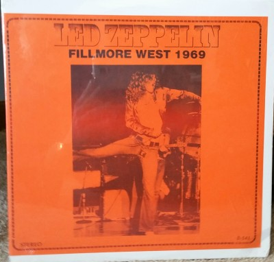 LED ZEPPELIN  FILLMORE WEST 1969  Great Live Concerts D-545