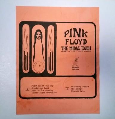 PINK FLOYD  MIDAS TOUCH  Wizardo WRMB 305