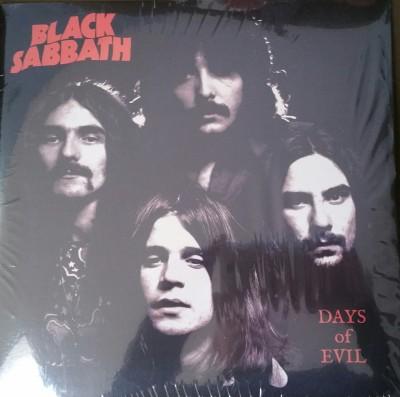 BLACK SABBATH   DAYS OF EVIL  no label