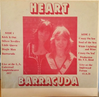 HEART   BARRACUDA   Dragonfly Records