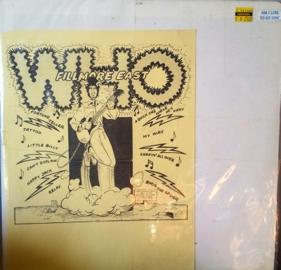 THE WHO    FILLMORE EAST    TMOQ  71071