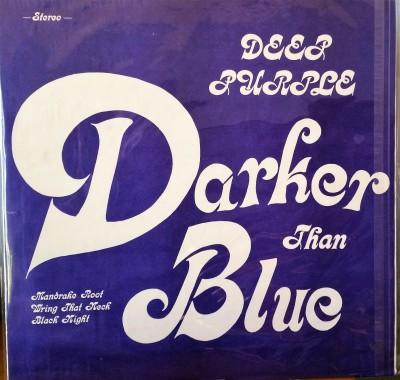 DEEP PURPLE   DARKER THAN BLUE  Purple Records