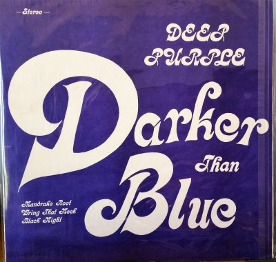 DEEP PURPLE   DARKER THAN BLUE  Purple Records