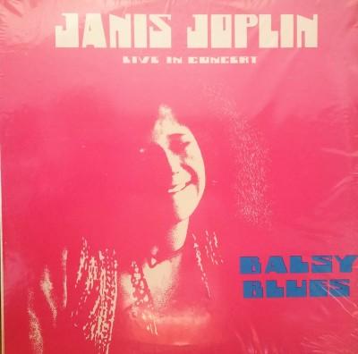 JANIS JOPLIN  LIVE IN CONCERT - BALLSY BLUES   Janis 1000 Exp 1000 214-7