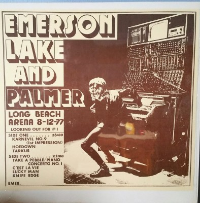 EMERSON LAKE & PALMER   LOOKING OUT FOR #1   Great Live Concerts Emer1